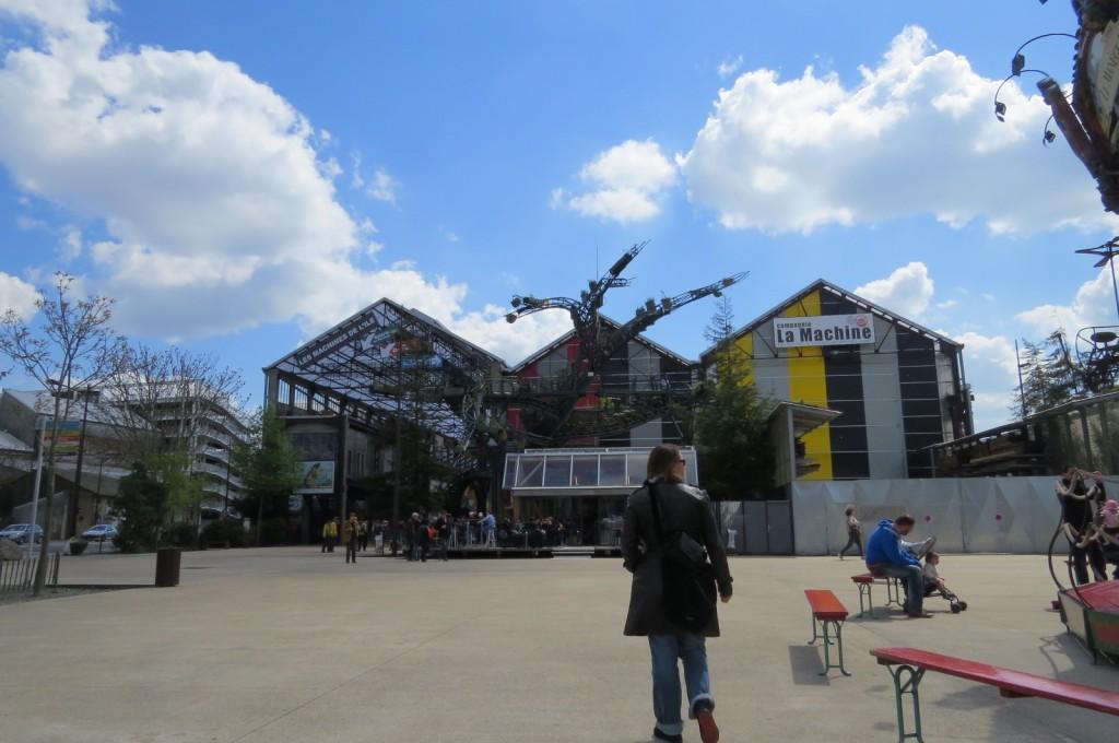 Aude m'a hébergé à Nantes et m'as fait découvrir sa ville.