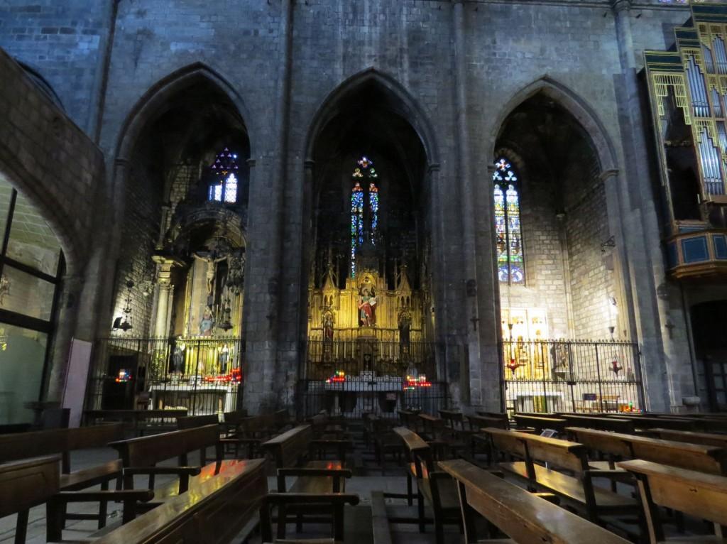 Basilica Santa Maria del Pi - Barcelone