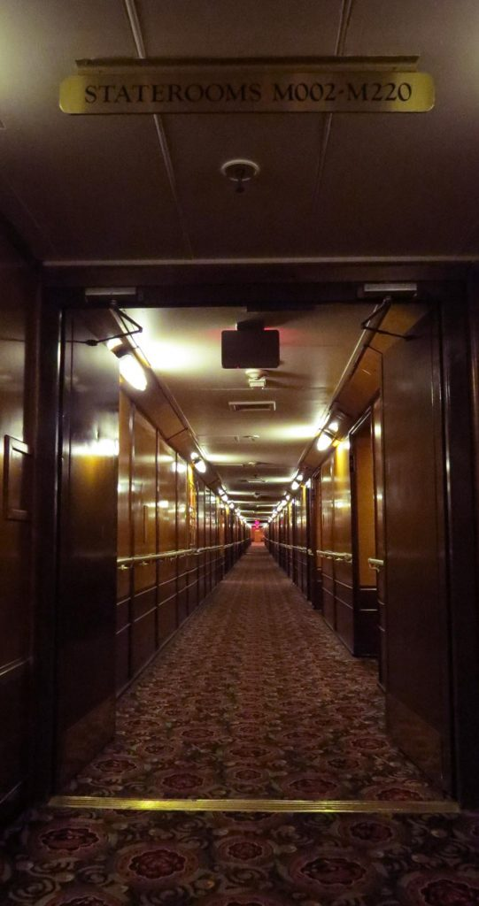 Couloir Queen Mary.