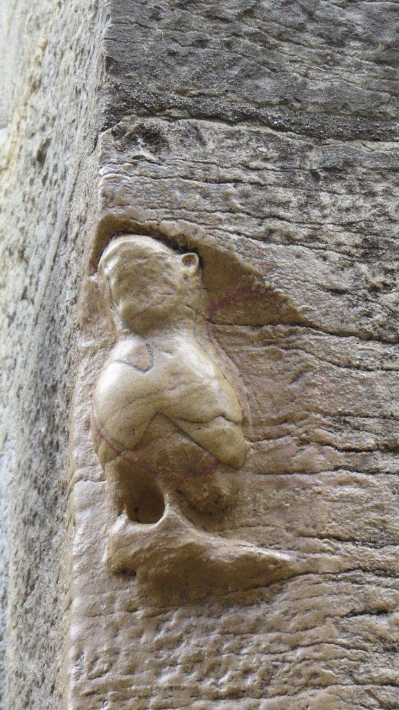 La chouette de l'église Notre-Dame, un symbole de Dijon.