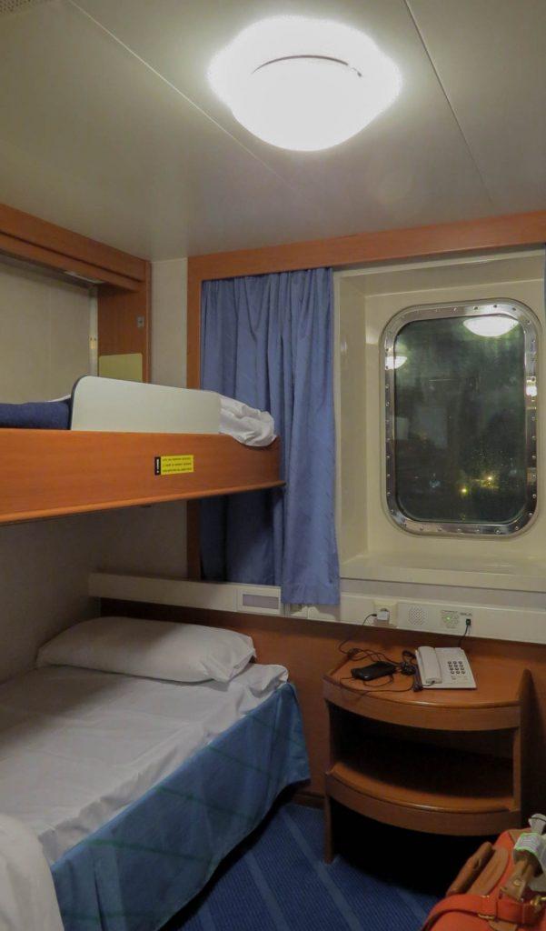 Corsica Ferries chambre pmr