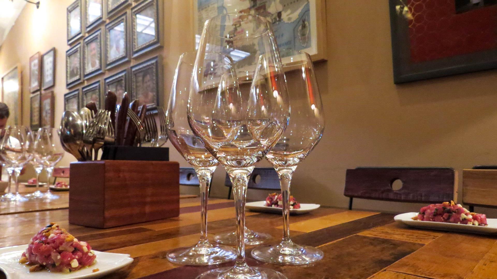 Chemin des vignobles - Tartare de veau