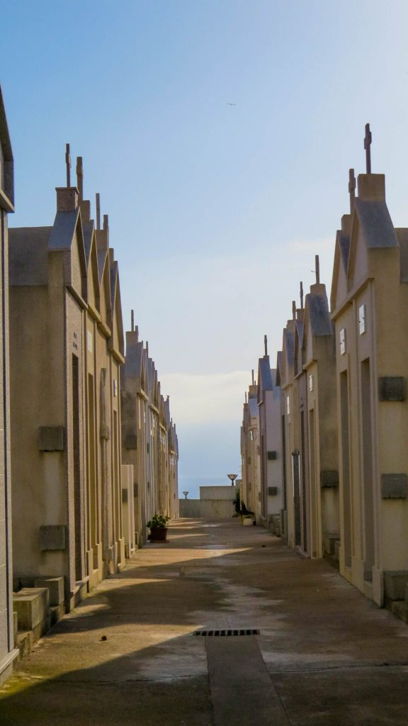 ruelle cimetière Bonifacio