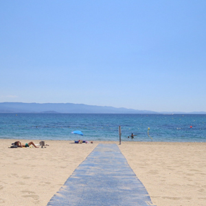 plage accessible corse