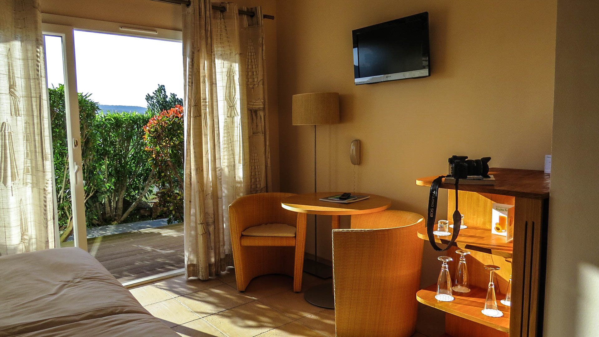 hôtel Alivi di Santa Guilia fauteuil roulant