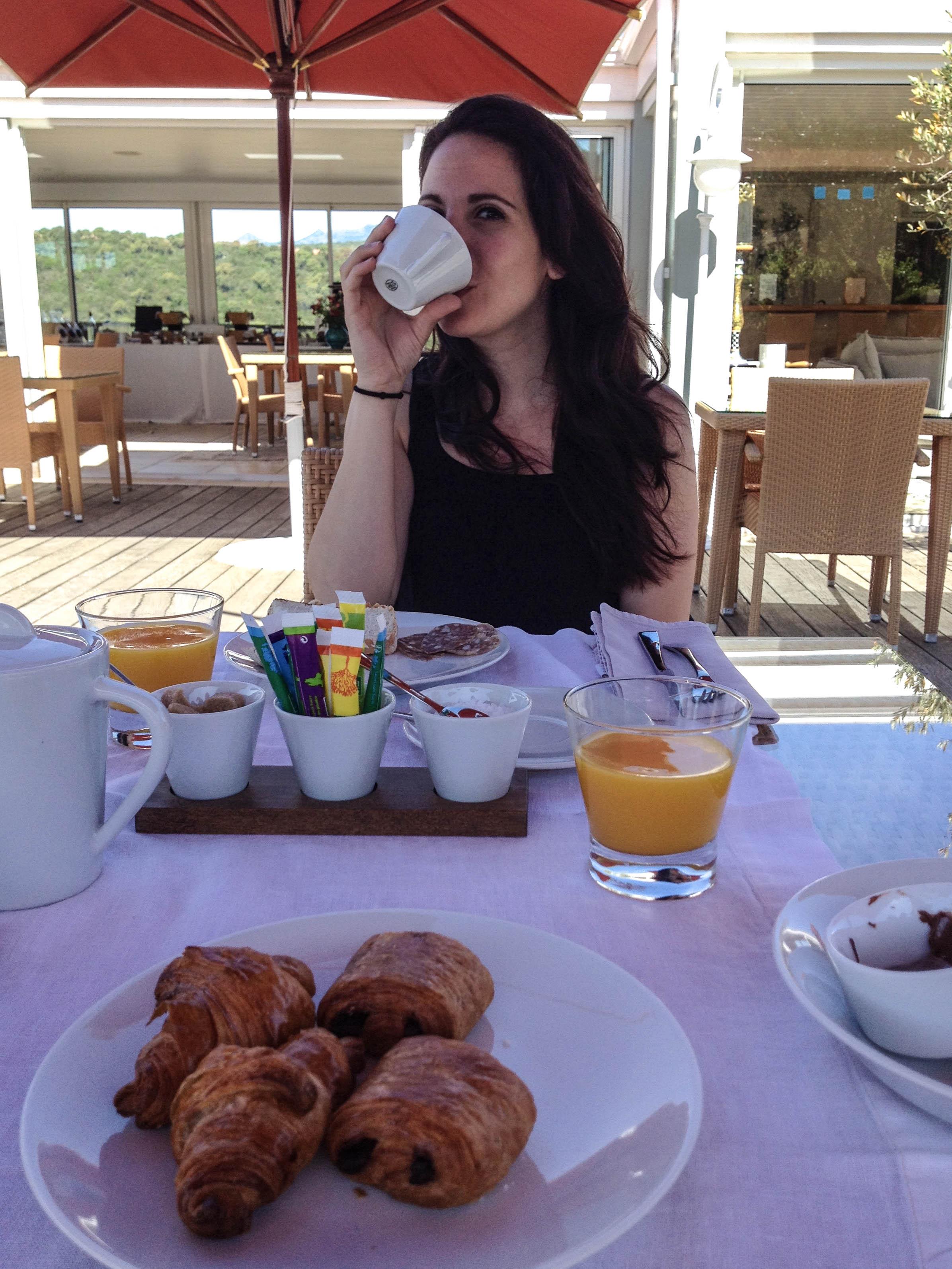 Corinne Stoppelli hôtel Alivi di Santa Guilia fauteuil roulant