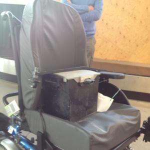 fauteuil roulant casse avion