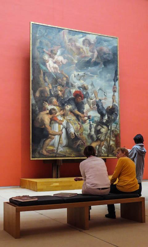 Le musée des beaux-arts de bruxelles.
