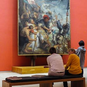 Bruxelles musées roulettes et sac a dos