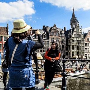 Passer un weekend à Gand.