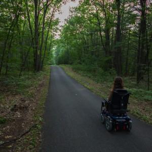 Le parc d'Oka est accessible en fauteuil roulant.